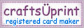 CUP Registered Card Maker Badge