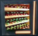 Bottles of Wine Triangle Stacker