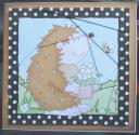 Hedgehog Cut and Fold Card
