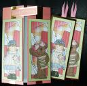 4 Stitchen sewing bookmarks/dl toppers
