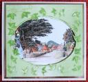 Bourton on the Water Cotswold Quick Card,Frame & Sentiments