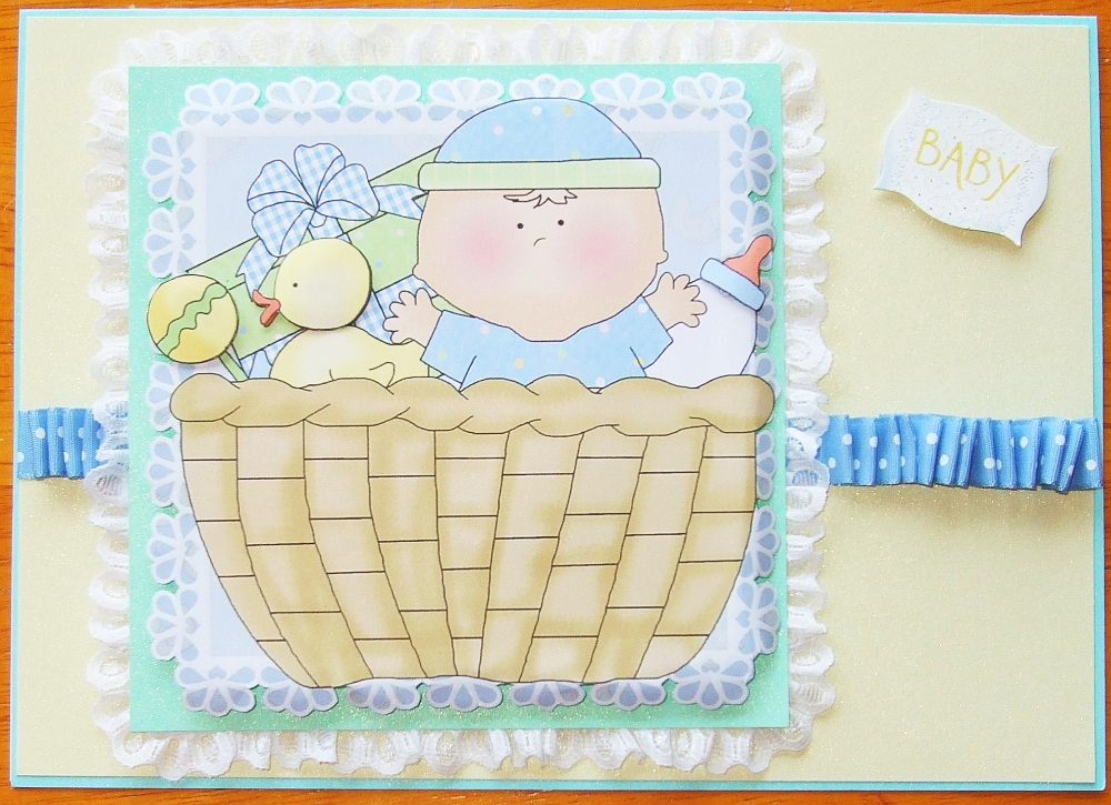 Baby Card Competition Entry