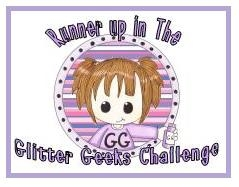Glitter Geeks Runner Up Badge