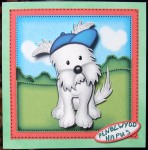cup408325_359 - card02 - Jock the Westie Dog quick card & 3D decoupage
