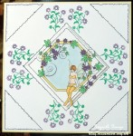 cup346289_1749 - card01C - Fairy in Floral Frame Stamp