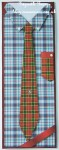 cup410491_1298 - card02C - Male Shirt & Tie Large DL Front ~ A clash of the TARTANS