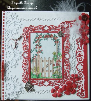 cup430938_117 - card02C - Digital Stamp Garden Gate with coloured version too