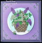 cup85555_359 - card01C - Square 'Silver Metallic Frame' Card Front or insert
