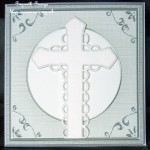 cup92344_359 - card03C - Square 'Silver Metallic Frame' Card Front or insert