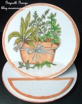 cup430953_117 - card02C - Digital Stamp Pot of Herbs with coloured version too