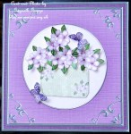 cup70440_359 - card02C - Square 'Silver Metallic Frame' Card Front or insert