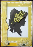 cup464683_415 - card02C - YELLOW FRAME WITH BOW AND SILHOUETTE LADY