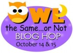 Owl The Same Or Not Blog Hop