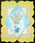 cup436630_66 - card03 - Digital Stamp - Vase of Daffodils
