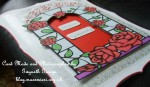 Stained Glass & Rose Frame - card04