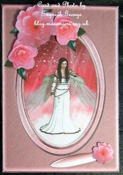cup453429_1914 - card01 - Fantasy & Flowers - Angel with Camellias