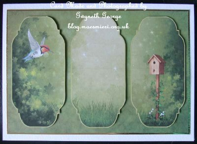 cup433863_1873 - card01 -  'Flying Home' Bird Card Topper