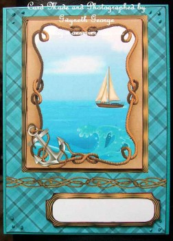 cup441471_1894 - card01 - Nautical boat design card for male birthday or father's day