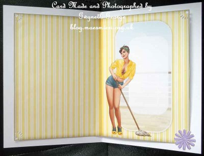 cup423156_437 - card02 - 1950's pin up girl Alice May (Yellow) Insert