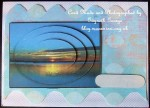 cup449607_1886 - card02 - Coorong Sunset Simple Oval Pyramid Card Front