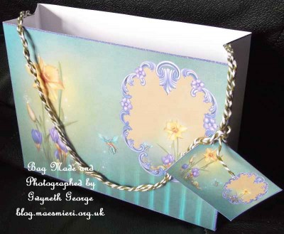 cup524971_994 - card03 -Springtime - Large 19x15x6cm Gift Bag