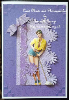 cup64617_359 - card01 - 'Daisy Embossed' Backing Paper