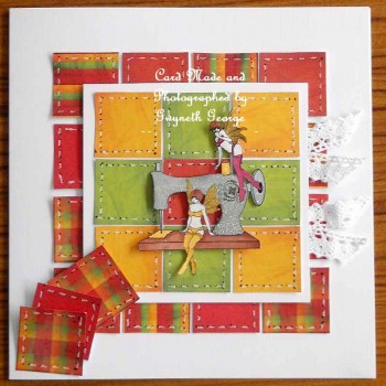 Fairy Patchwork Sewing card03