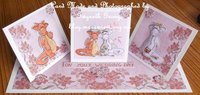 Wedding Easel card 08