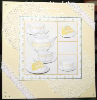 cup270885_442 - card01 - Time 4 Tea 5x5 Decoupage In Lemon