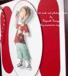 cup429335_437 - card01 - Teen boy text star Decoupage Sheet
