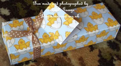 cup517208_66 - card01 - Little Chicks Backing Paper on Blue