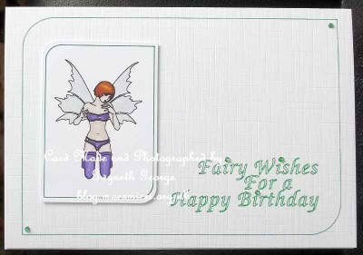Kneeling Fairy - card05