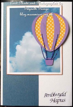 cup545576_1051 - card01 - Blue Sky and Clouds Backing Paper 2