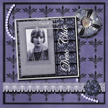 Deco Daze Collection - Page Kit 1