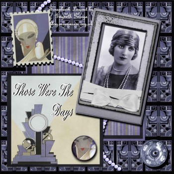 Deco Daze Collection - Page Kit 2