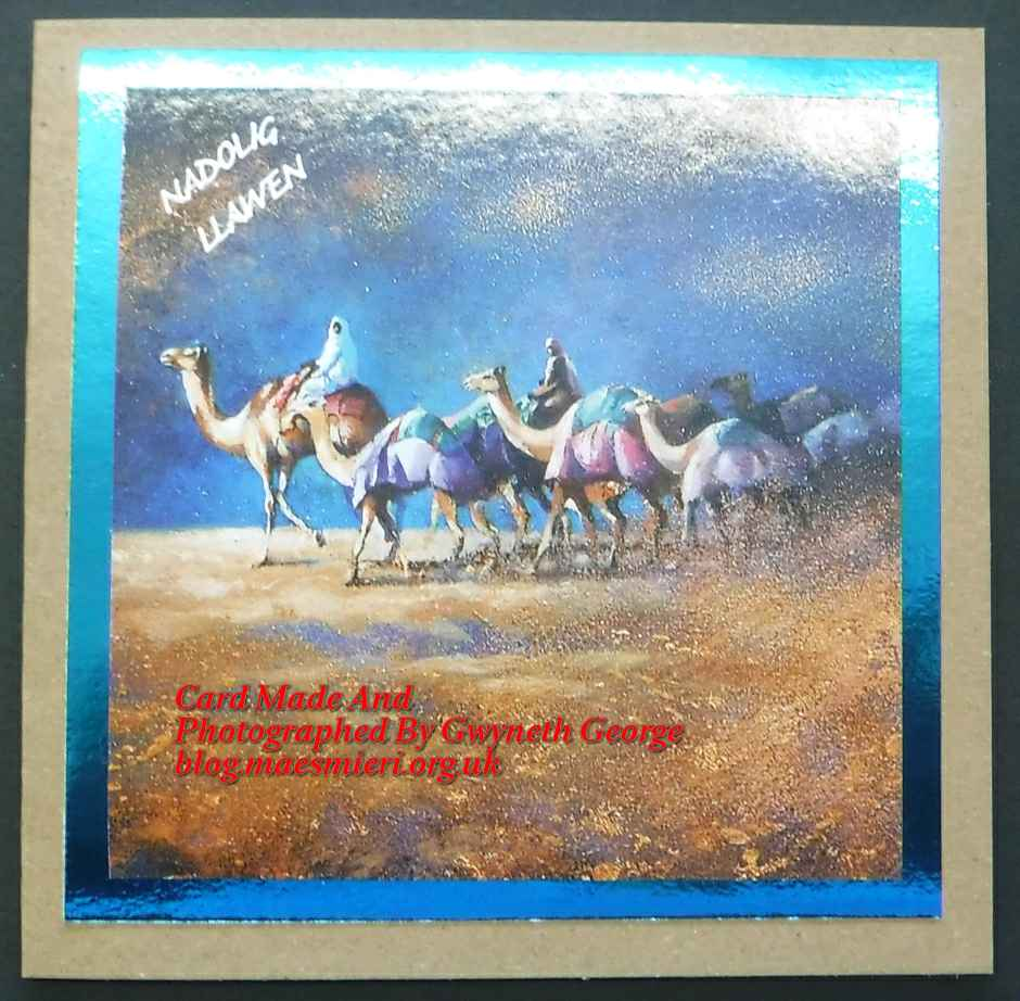 Another Pack Of Recycled Christmas Cards – Blog Crefftau MAES MIERI ...